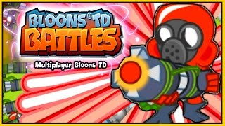 Bloons TD Battles - RAY OF DOOM! $55,000 MAX LEVEL! - BTD Battles Epic Game