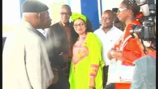 Le patron du groupe Guinéen Bembeya Jazz invité du journal televisé