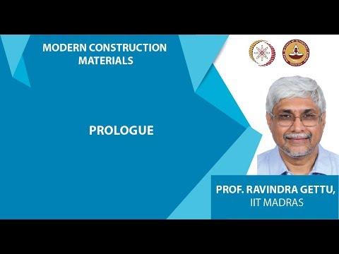 NPTEL :: Civil Engineering - Modern Construction Materials