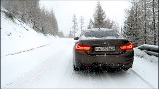 SNOW DRIVE IN THE 2018 BMW 440i xDrive