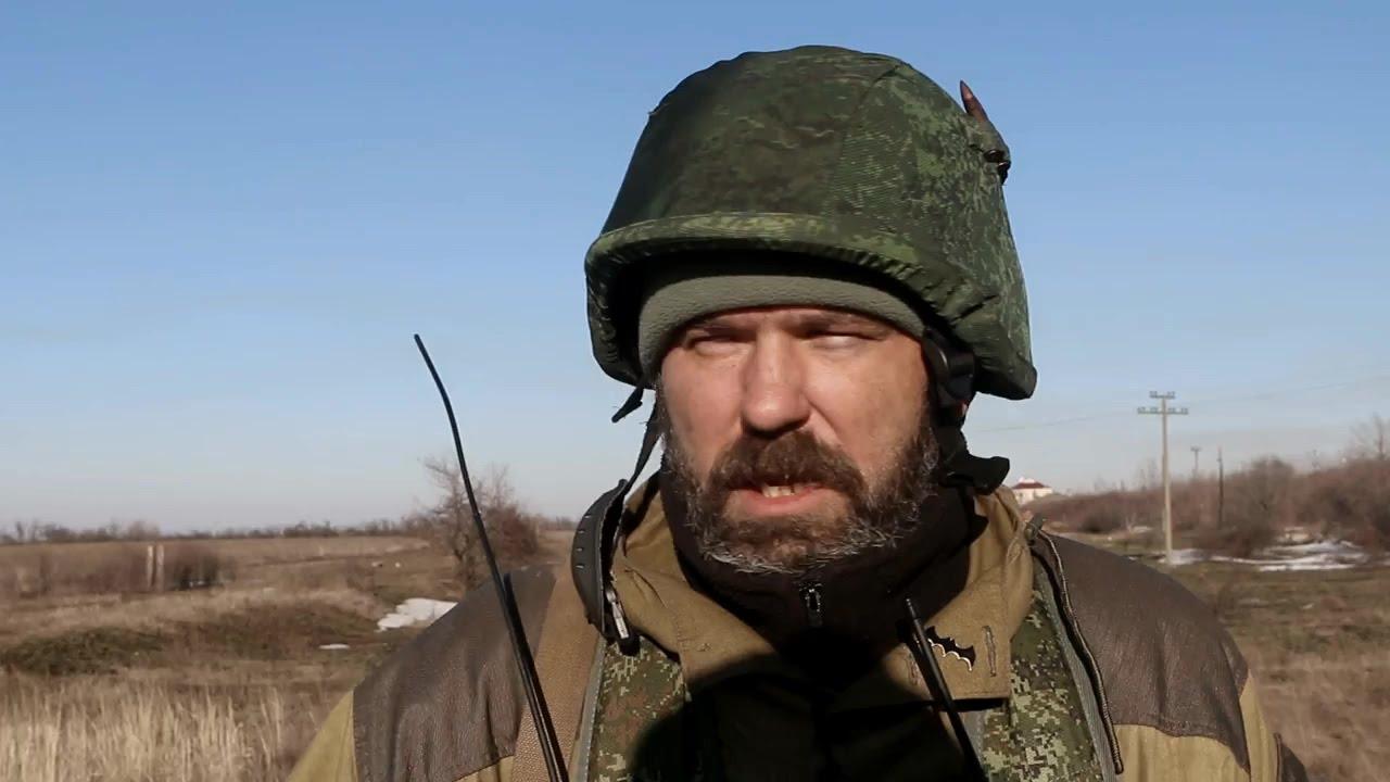"""Ополченец """"Охотник"""" - """"А я бы не брал в плен"""". Ополченцы, Новороссия."""