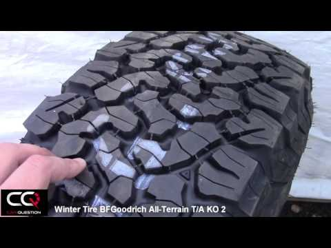 Winter Tire Review: BFGoodrich All-Terrain T/A KO2, simply the best for a truck!