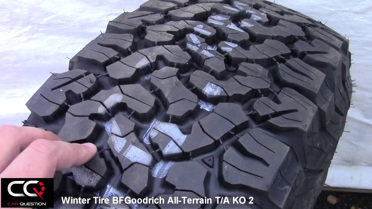Winter Tire Review Bfgoodrich All Terrain T A Ko2 Simply The Best For Truck