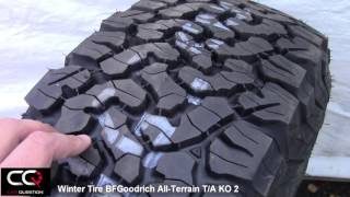 Winter Tire Review: BFGoodrich All-Terrain T/A KO2, simply the best for a truck! thumbnail