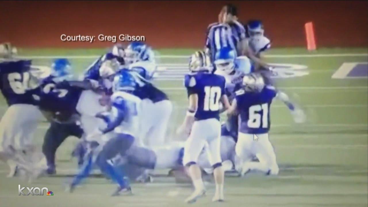 John Jay High School players tackling referee John Jay High football players allege racial slurs wer