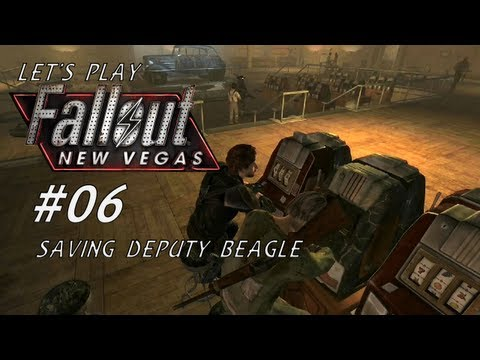 Let's Play Fallout New Vegas (Modded - Project Nevada) - #06 - Saving Deputy Beagle