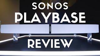 Sonos Playbase Review: Best Wireless Surround Sound? [Playbase vs Playbar]