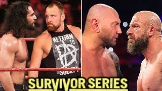 10 WWE Survivor Series 2018 Matches Rumored - Big Plans Revealed