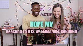 Video Dope by BTS - M/V Reaction download MP3, 3GP, MP4, WEBM, AVI, FLV Agustus 2018