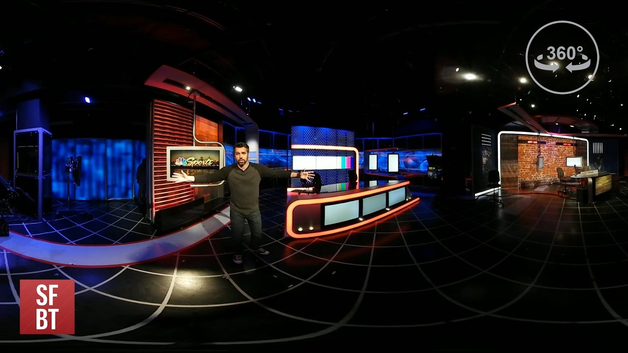 A 360-degree look behind the scenes at NBC Sports Bay Area / California
