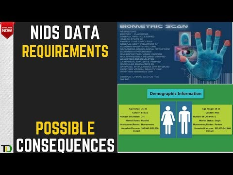 NIDS Data requirements and the implications of nonenrollment