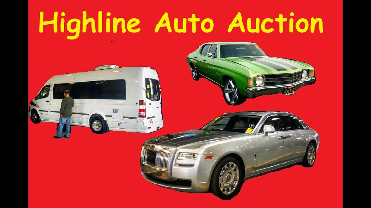 Manheim Car Auction: Highline Car Auction Manheim Dealer Auto Auctions Video