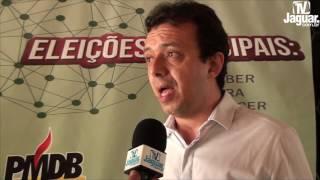 PMDB - Roberto Vagner destaca a importância das palestras sobre prestação de contas eleitorais