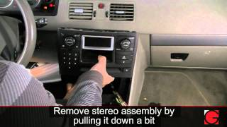 GROM USB iPod Bluetooth Adapter Interface Installation for Volvo XC90 2003- 2009