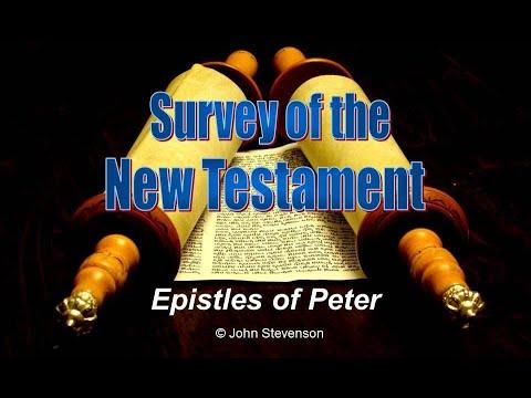 New Testament Survey 21 - Epistles of Peter