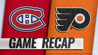 Price, Canadiens take down Flyers, 3-1