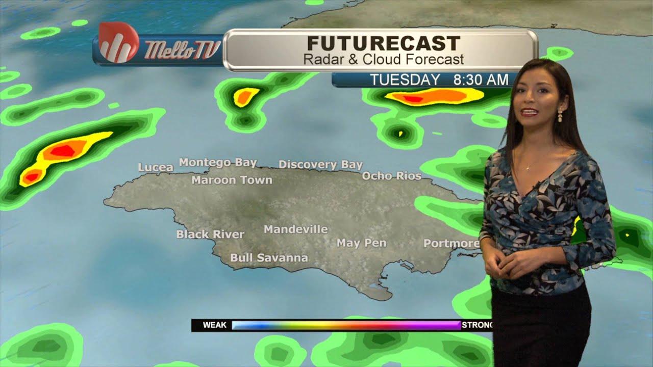 Jamaica Weather Forecast-January, 4th 2016 with Cristina Sánchez