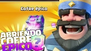 opening chest epic 19 letters (Clash Royale)