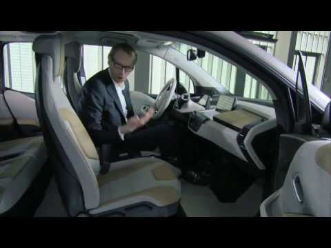 NEW BMW i3 - INTERIOR DESIGN REVIEW | AutoMotoTV
