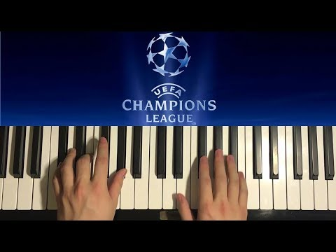 HOW TO PLAY  UEFA Champions League Theme Song Piano Tutorial Lesson