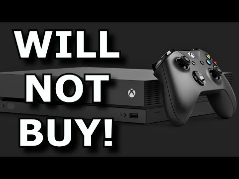 Why Will Not Buy An Xbox One