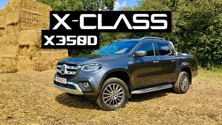 homepage tile video photo for Mercedes Benz X-Class X350D Review: Posh Pick-Up? - Inside Lane