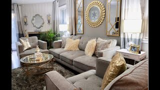 Redecorating for under $2,800   |   Glam Living Room Tour: Part 1