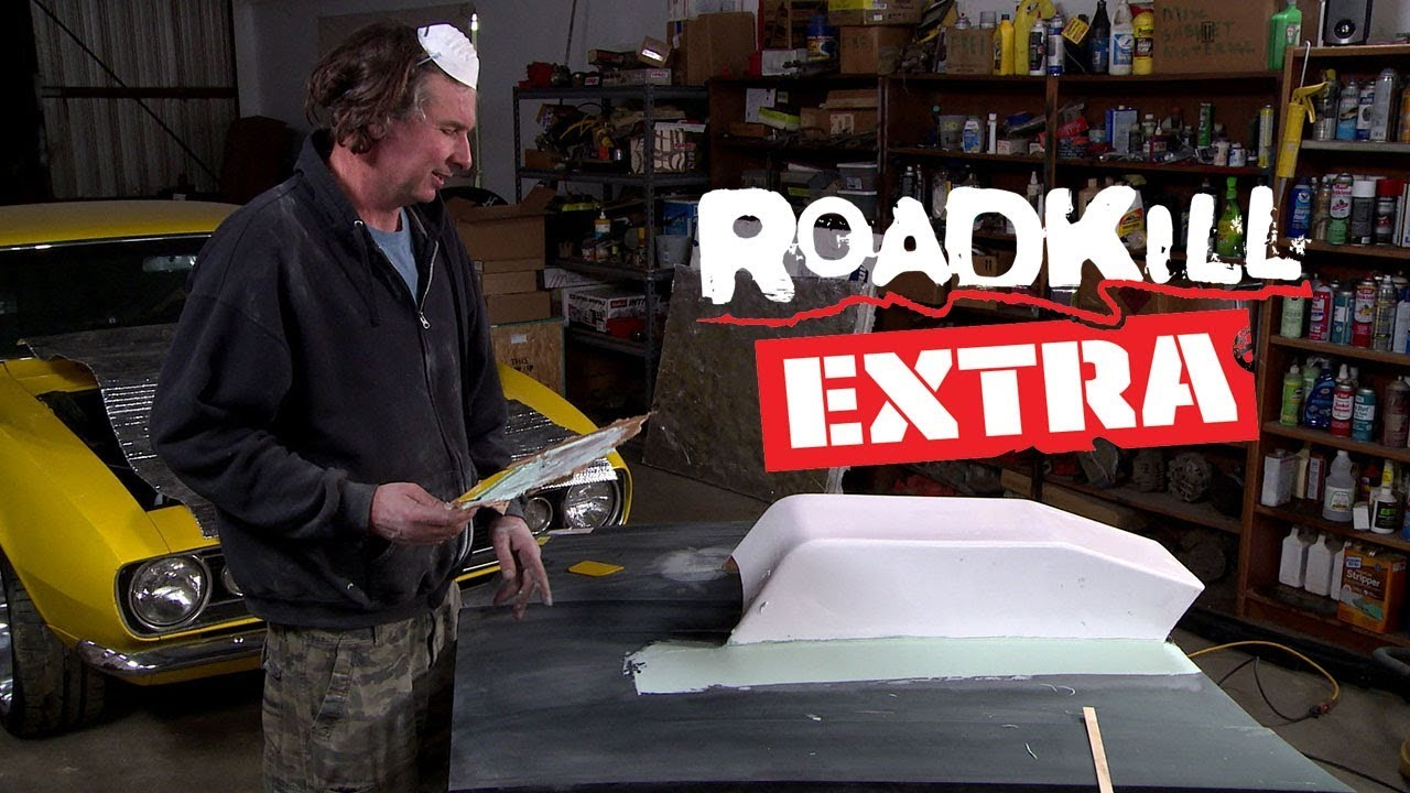 How to Install a Fiberglass Hoodscoop - Roadkill Extra