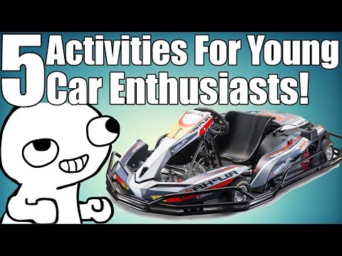 5 Activities For Enthusiasts With No License!