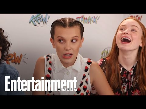 Stranger Things: Millie Bobby Brown Teases Big Climax For Eleven | SDCC 2017 | Entertainment Weekly