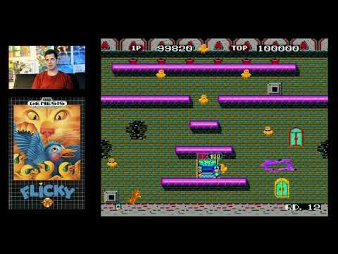 Flicky (Sega Genesis) Mike Matei Live Stream