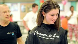 Haircut Donation Event at Westfield High School 2015