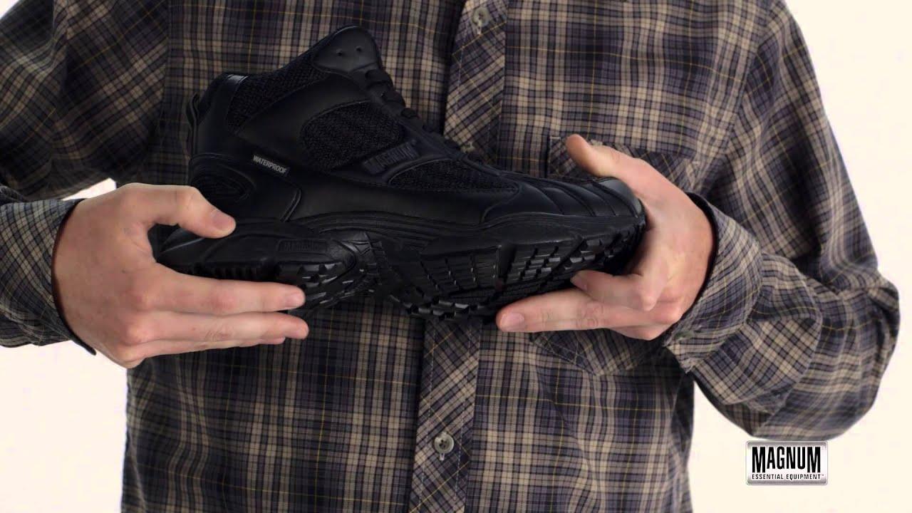 Magnum Uniform Service Trainer (M.U.S.T.) Mid Waterproof Magnum Boots