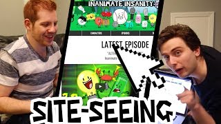 SITE-SEEING OUR NEW SITE [New Inanimate Insanity Website + More]