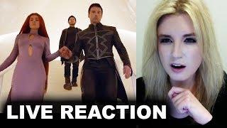Inhumans Trailer REACTION