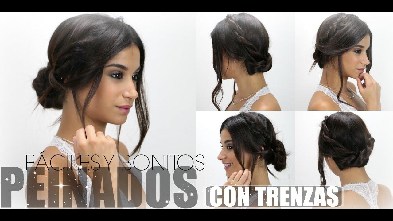 Peinados faciles y bonitos con trenzas youtube - Peinados faciles y bonitos ...