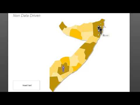 Map of Somalia: How to Use Icons on a Map in PowerPoint