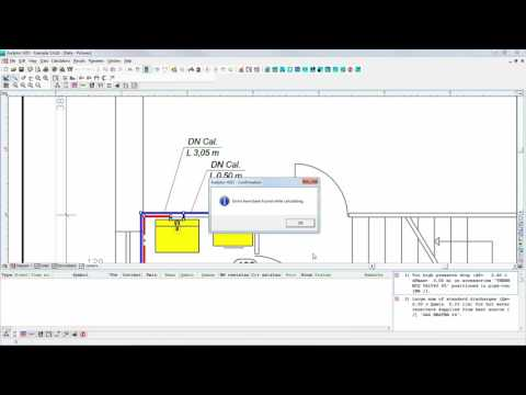 Audytor H2O - internal water supply systems designing software (cold, hot and circulation water)