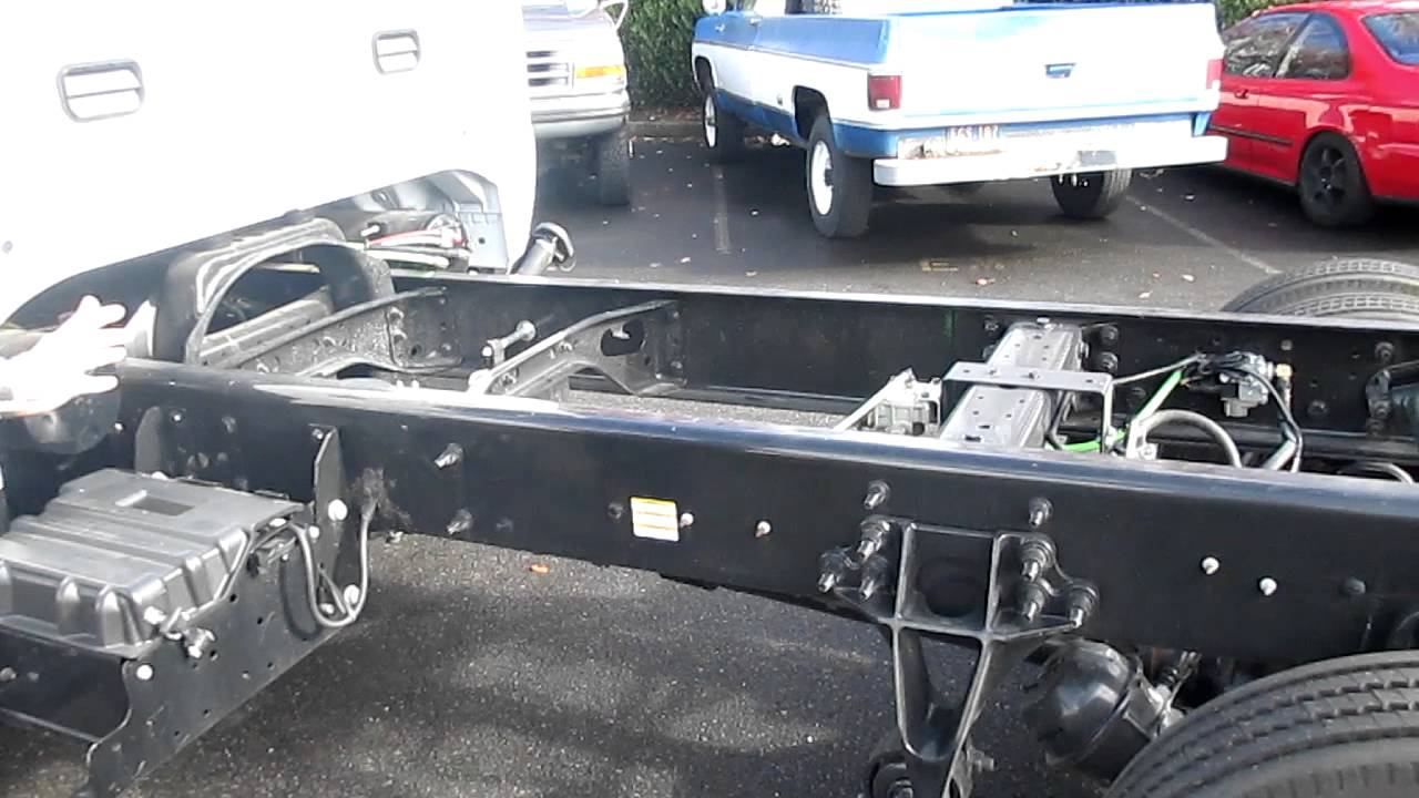 Ford F650 ProLoader Crew Cab Chassis With Air Seats & Air ...