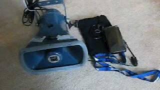 携帯電話と拡声器 SH-02B