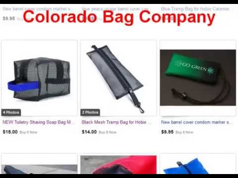 Colorado Bag Company's Sail Boom Bags and Accessories for Hobie Nacra Prindle Cats