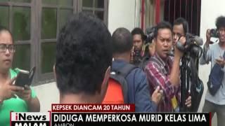 Murid kelas 5 diperkosa Kepala sekolahnya sendiri iNews Malam 12 05