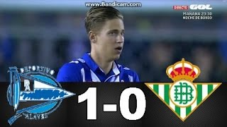 Video Gol Pertandingan Deportivo Alaves vs Real Betis
