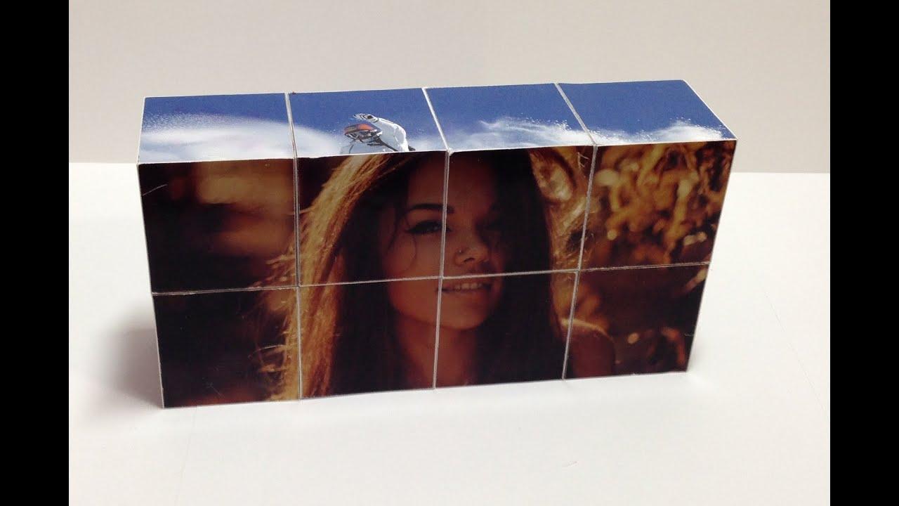 соединении двух перекидной фотокубик своими руками поделитесь своей историей