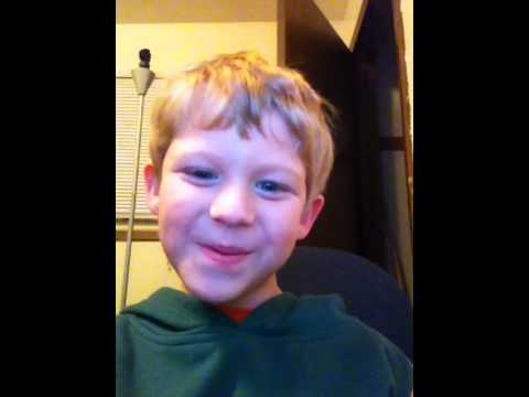 5 year old singing International Harvester