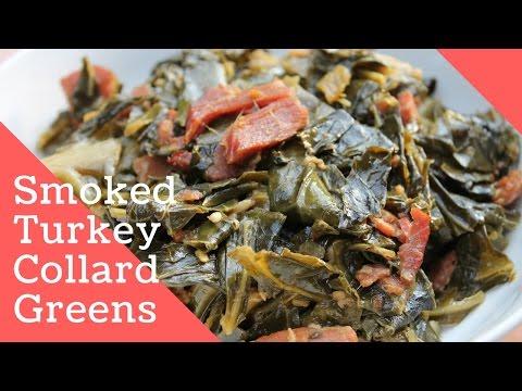 BEST SMOKED TURKEY COLLARD GREENS RECIPE | IN DA KITCHEN