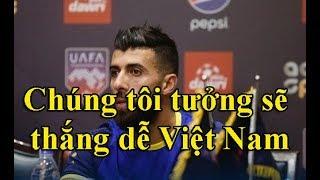 Cầu thủ Jordan thừa nhận SỐC sau trận thua tuyển Việt Nam