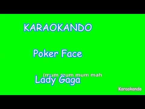 Karaoke Internazionale - Poker Face - Lady Gaga ( Lyrics )