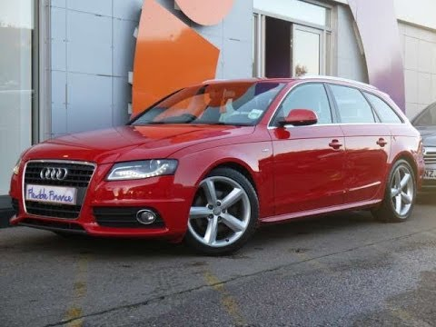 Review Our 2009 Audi A4 Avant S Line 20tdi Red For Sale In
