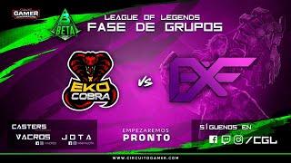 CAMPEONATO CGL BETA LEAGUE OF LEGENDS // NightRaid Z vs Savage Esports // Fase de grupos // BO 2